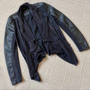 Blank NYC Black Moto Jacket XS